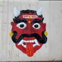 fridge_magnet_peepletree_art_gallery_house_decors_sadashivanagar_bangalore_Bengaluru_INDIAN_DEMON_MASK_acrylic_on_wood_20210121_133634.png
